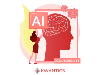 Ai helping a woman